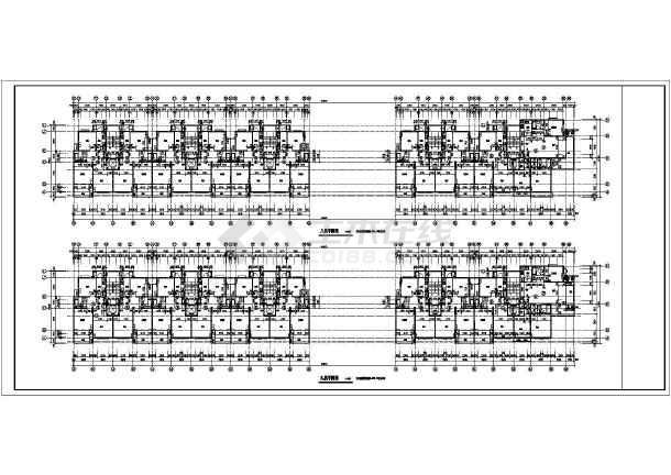 西班牙建筑风格住宅楼施工图-图2