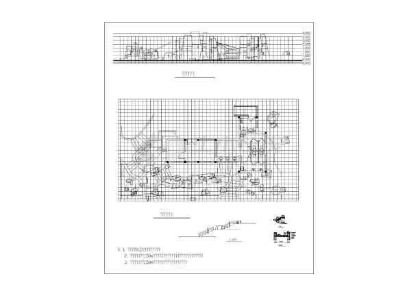 假山CAD施工图-图3