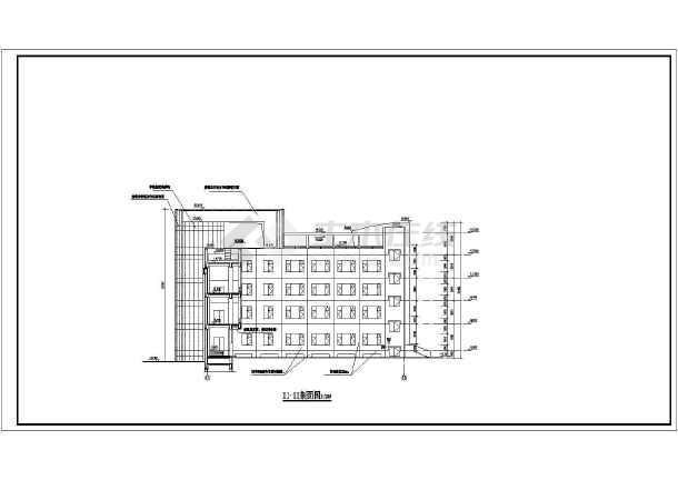 酒店全套cad施工图-图3