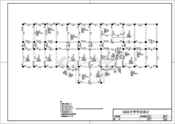 含计算书,施工组织设计,太原图,平面布置图,建筑图,结构图)建筑设计研究生横道图片