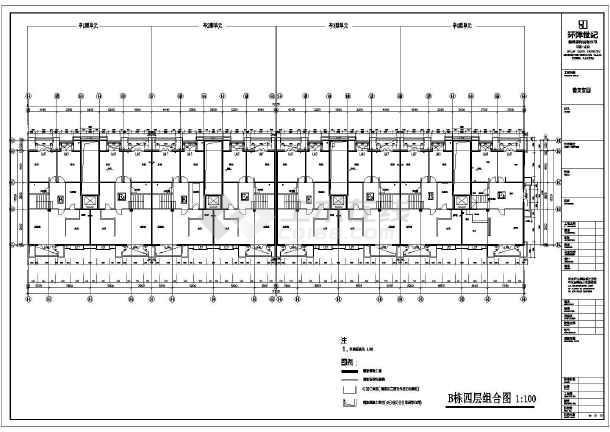 某小区住宅cad施工图纸-图2