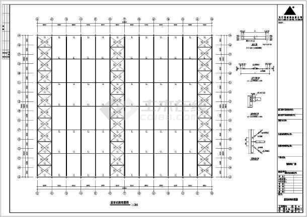 安微某图纸钢结构木业CADv图纸工程corelcad2015图片
