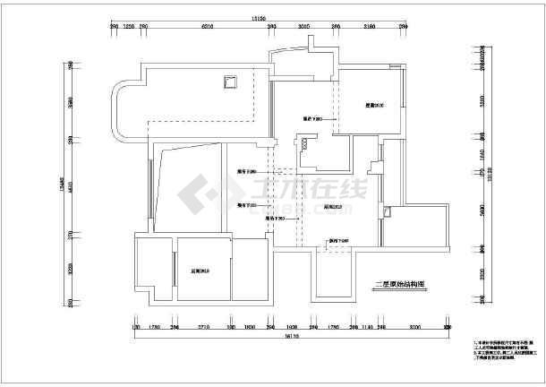 某地区豪华别墅装修cad全套施工设计图纸