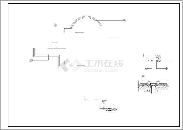 某卫生院cad施工图-图1