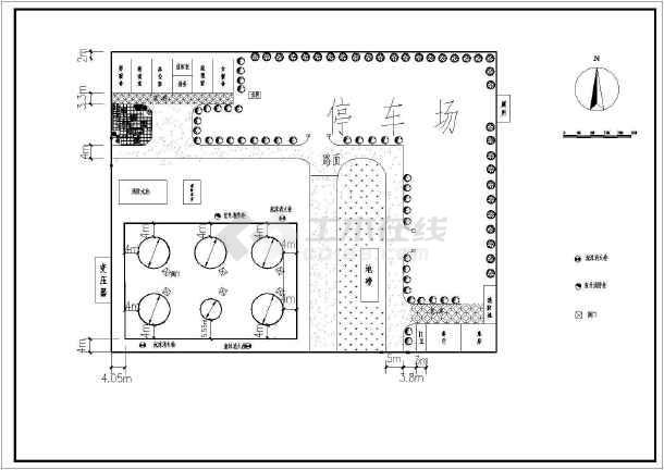 灌区小厂区规划图-图1