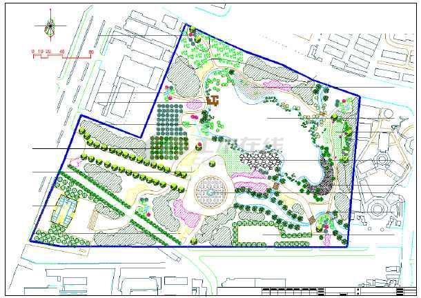 小区公园快题设计