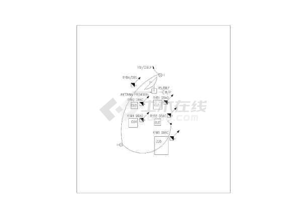 全套凤凰图纸设计别墅与施工别墅CAD版本岛万佛湖安徽英文方案图片