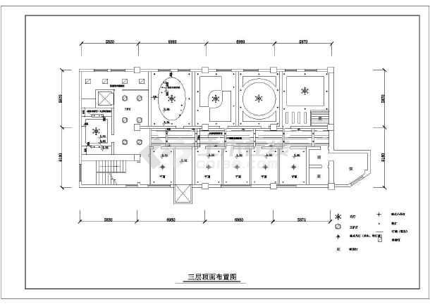 某地区椭圆形平面翻板图纸cad酒店建筑床v平面图纸图片