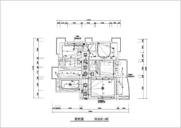 家居装修照明电路设计图(共4张)