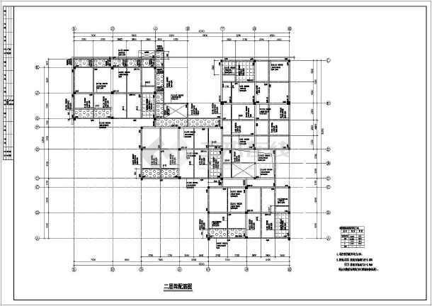 小区幼儿园建筑结构施工全套方案设计图