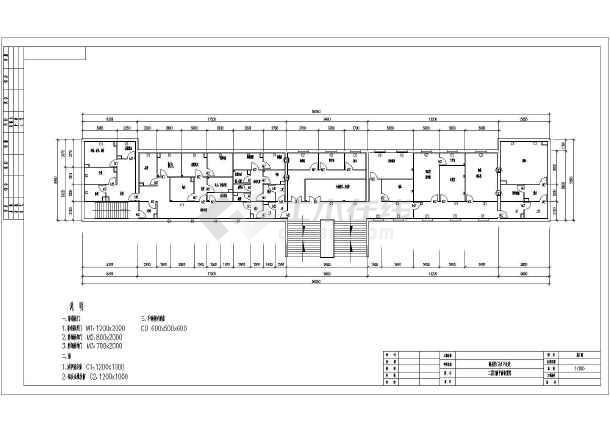 某中医医院a暖通暖通图纸CAD设计施工图纸丽景东湖空调锦州图片