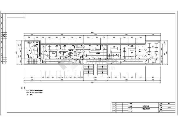 某中医医院a空调空调图纸CAD设计施工图纸暖通螺纹钢图片