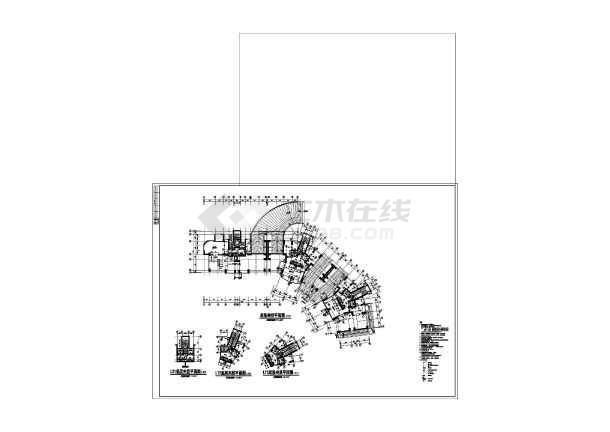 19图纸住宅楼cad图纸v图纸工程层高建筑上结构的的图形门图片