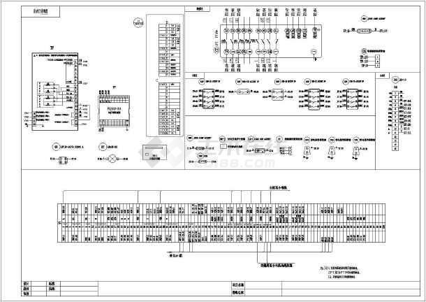 1PT并列原理图纸接线cad设计图纸_cad图纸下装置氧反应器厌图片