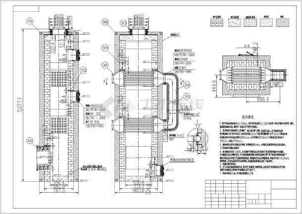 换热器、急冷塔全套设备CAD设计图光明大黄油图片