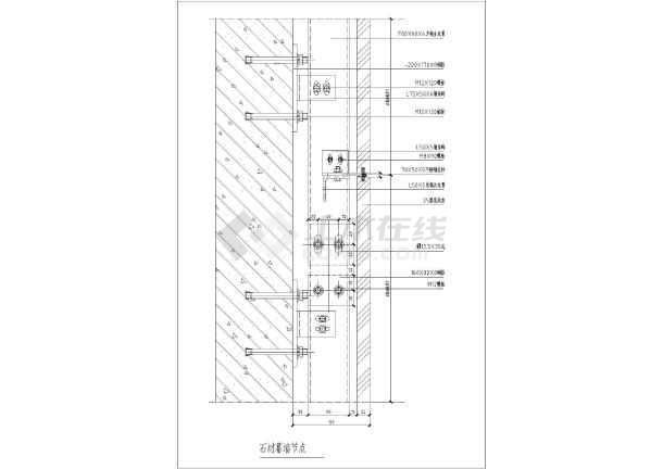 石材幕墙防雷设计_幕墙设计图纸_幕墙设计图纸大全免费下载_土木在线
