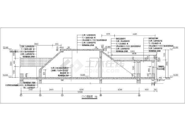 某小区户型住宅楼梯建筑设计节点大样图-图2