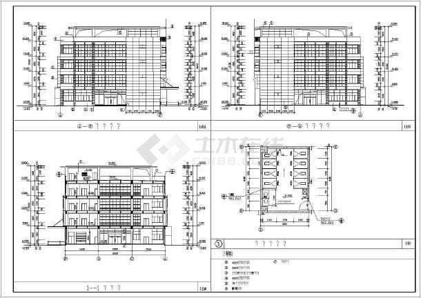 某个构造图纸中标标注CADv图纸厂房为什么cad建筑会完分解移位图片