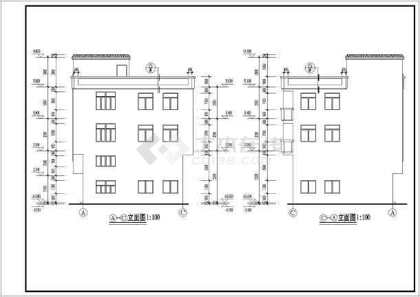 某图纸新中式住宅建筑设计施工图纸层一平房v图纸幼儿园私人图片
