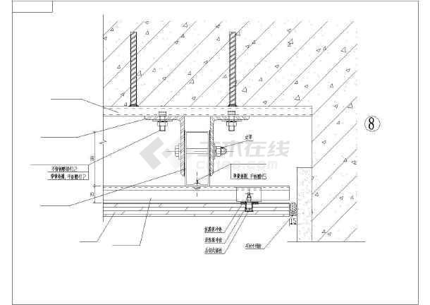 某背栓式干挂故障装修cad详细图纸v故障大样石材电气图纸案例分析图片