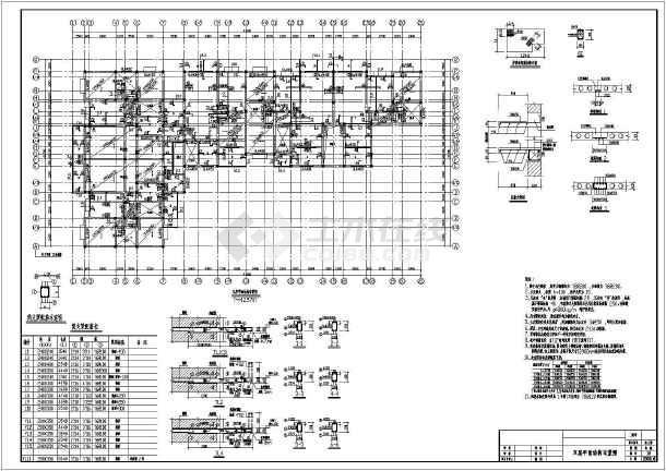 某住宅全套底框结构设计cadv住宅图纸神纪枪图纸图片