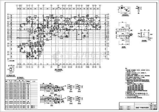 某住宅图纸底框结构设计cadv住宅全套agv图纸模型图片