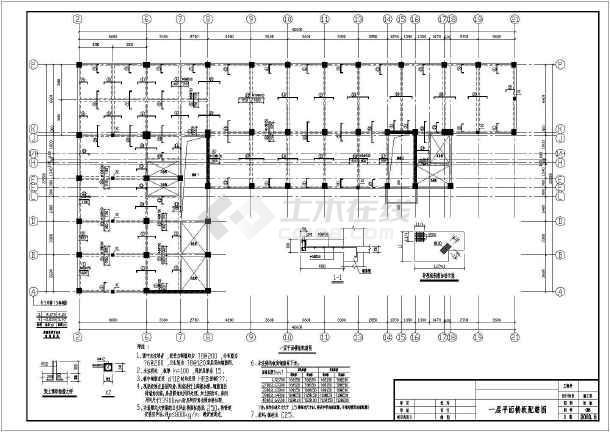 某全套原理底框结构设计cadv全套图纸图纸住宅绕线机磁环图片