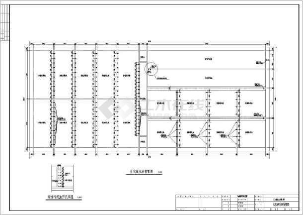 厌氧接触氧化活性污泥设计图纸-图3
