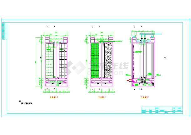 新建V型滤池2500吨/d方案设计图-图2