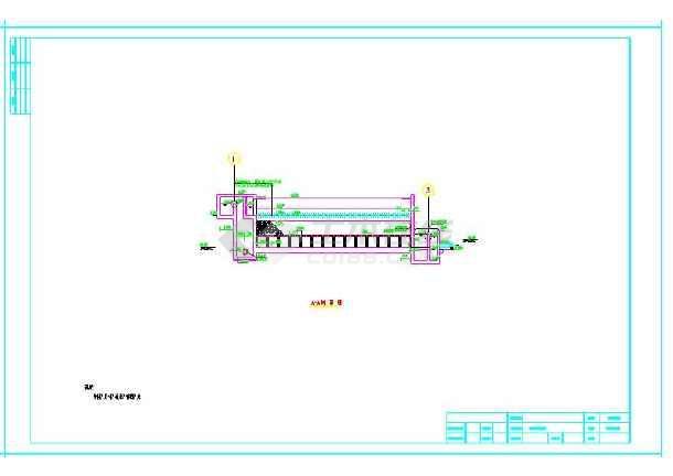 新建V型滤池2500吨/d方案设计图-图3