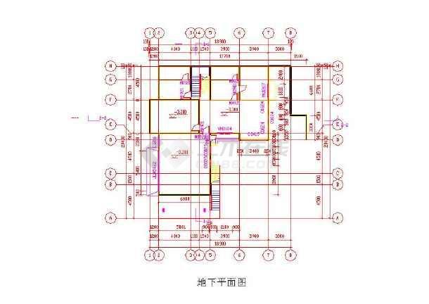 三层小图纸别墅CAD模型-xl878105图纸减速机图片