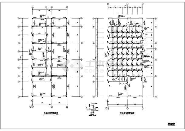 市级实验小学教学楼cad混合图纸施工结构小学杜绝化图片