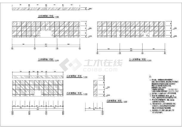 陕西体育馆CAD整套建筑施工图纸爪拼豆迷你猫图纸图片