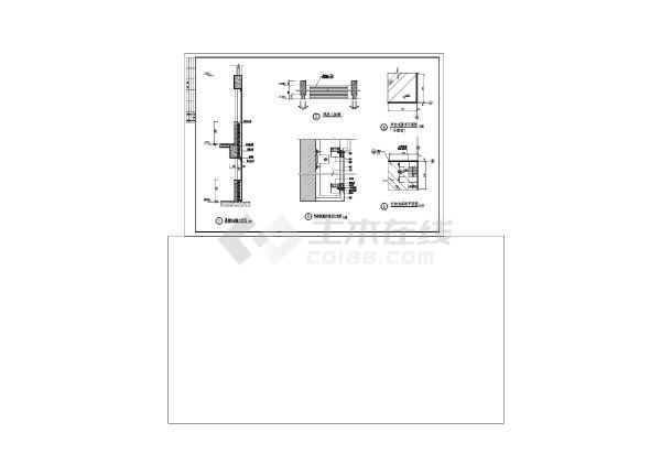 陕西体育馆CAD整套建筑施工酒店图纸图纸下载图片