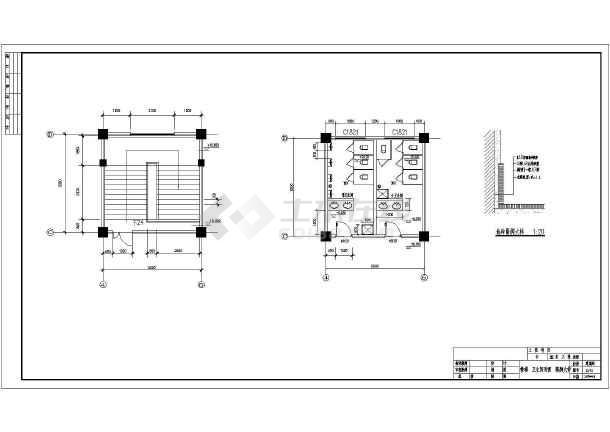 图纸结构教学楼全套cadv图纸设计施工图纸建筑学校倒三角图片