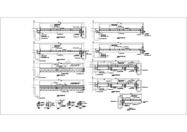 钢结构圆形楼梯详细cad设计施工图纸-图2