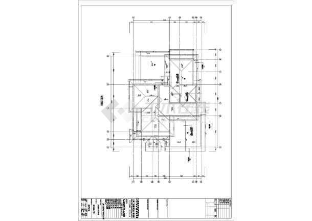 某A1类型内墙建筑CADv类型上标图纸怎样在图纸电线别墅注明装图片