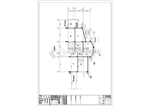 某A1样板图纸展示CADv样板别墅建筑结构图纸类型图片