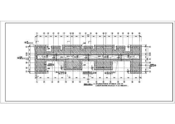 某地区屋面廉租房坡多层建筑图(含v屋面说明)象山建筑设计研究院图片