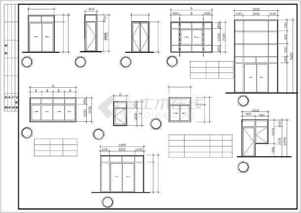 广东省某图纸小城市名称CAD全套高层cad住宅中安装展开v图纸图片