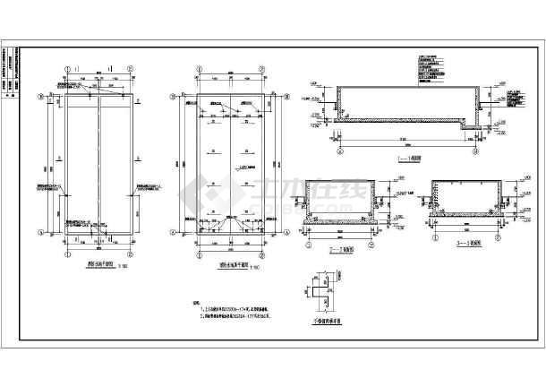 化工园区循环水池结构图.dwg