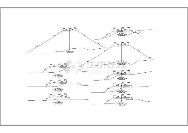 最新整理路基横断面设计图