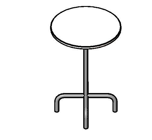 家具-3d-桌椅-桌子-咖啡桌 - 圆形