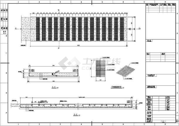 钢格栅结构设计详图(格栅材质为不锈钢)-图1