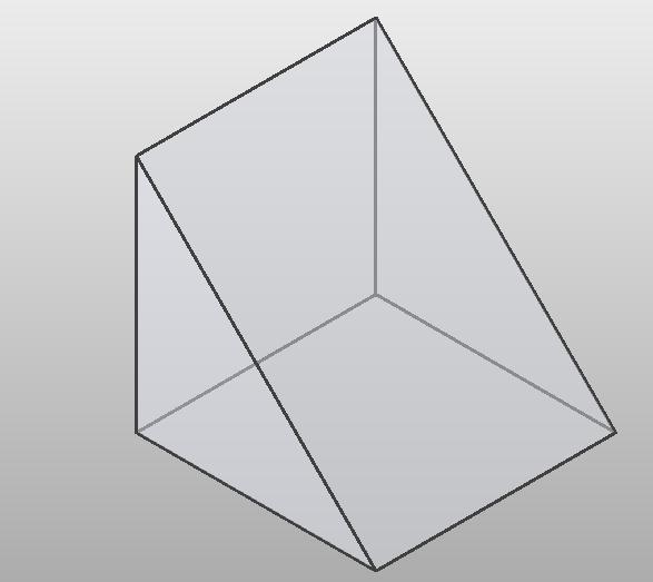 体量-三角形-直角