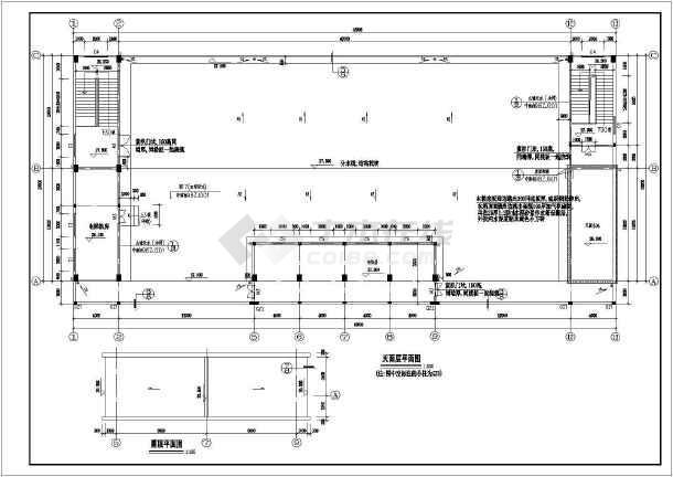 某6层厂房建筑全套cad设计施工图纸