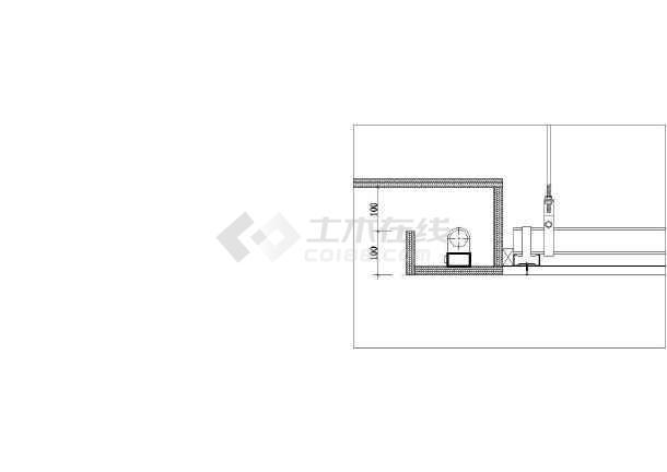 常用天棚吊顶建筑设计CAD施工图-图2