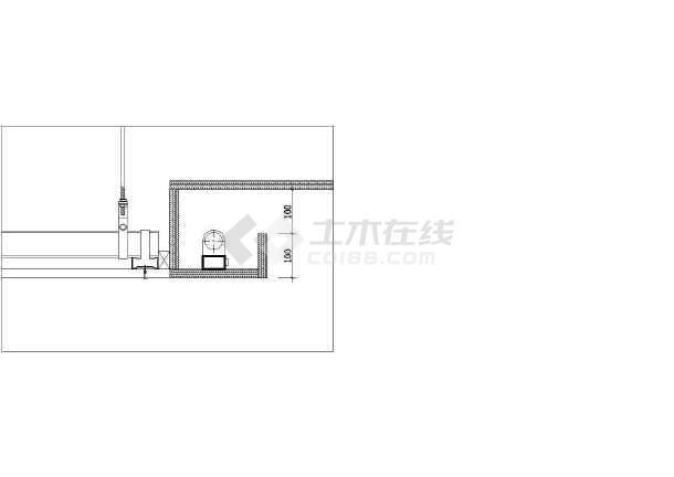 常用天棚吊顶建筑设计CAD施工图-图1