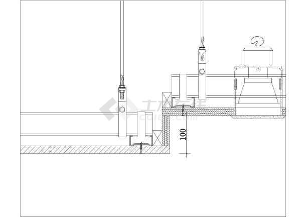 常用天棚吊顶建筑设计CAD施工图-图3