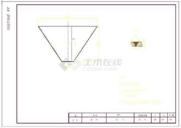 用于污泥处理的D1000压力泥罐全图-图1